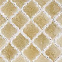 arabesque tile kitchen back splash