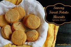 Savory Sweet Potato Biscuits (grain free) / savorylotus.com