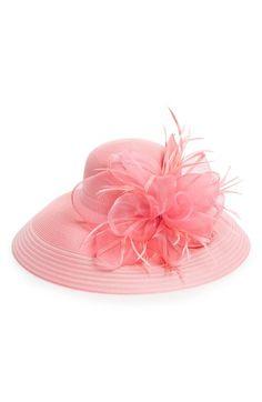 August Hat Crystal Embellished Floral Hat available at #Nordstrom