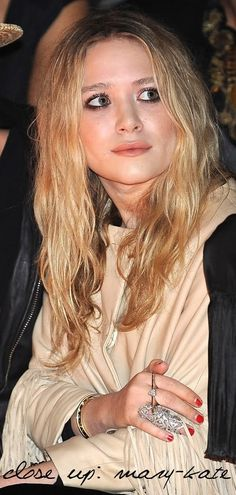 Mary-Kate Olsen Close Up #style #fashion #beauty #olsentwins