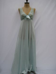 1960s Vintage Night Gown Lingerie by TheVintageSuitcases on Etsy, $24.99