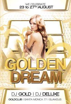 Gold Club Flyer Template https://noobworx.com/store/gold-club-flyer-template/?utm_campaign=coschedule&utm_source=pinterest&utm_medium=NoobWorx&utm_content=Gold%20Club%20Flyer%20Template #free #flyer #template