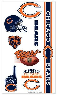 18 Best Chicago Bears Tattoos images in 2019  68cca964b