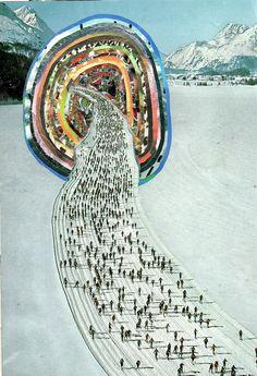Retro-Futuristic Magazine Collage Art by BenGiles