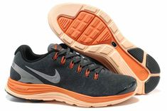 buy online c01c0 76c2f Buy Nike LunarGlide+ 4 Premium Men s Running Shoes Suede Dark Grey Total  Orange Cool Grey Lastest from Reliable Nike LunarGlide+ 4 Premium Men s  Running ...