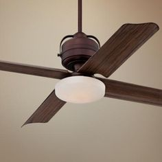 "52"" Casa Tiburon Oil-Brushed Bronze Outdoor Ceiling Fan  $250 on Lamps Plus"