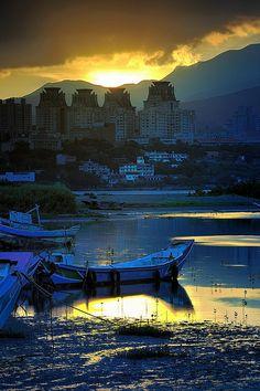 Tanshui Town,Taiwan,TW/淡水。