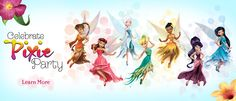 Fawn, Rosetta, Periwinkle, Iridessa, Vidia, Silvermist... just need to find Lyria!