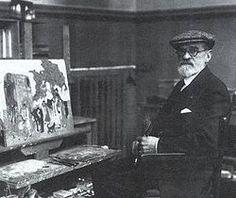 Pedro Figari en 1912. Pintor, abogado, político,escritor y periodista Uruguayo.[1861-1938]