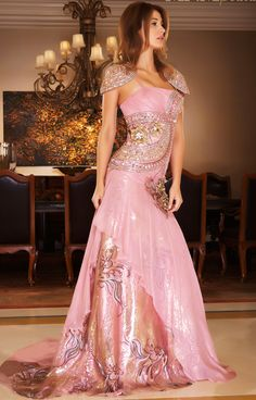 -06131 Dazzling Red Carpet Dress by MNM