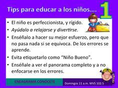 El Eneagrama y los Niños!!!