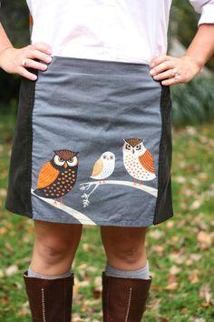 An Owl Skirt