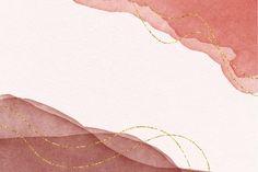 Elegant watercolor background | Free Vector #Freepik #freevector #background #watercolor #hand #hand-drawn Pink Wallpaper Desktop, Pink And Gold Wallpaper, Wallpaper Notebook, Vintage Flowers Wallpaper, Macbook Wallpaper, Aesthetic Desktop Wallpaper, Watercolor Wallpaper, Cute Patterns Wallpaper, Aesthetic Backgrounds