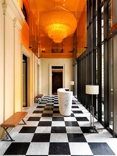 Mandarin Oriental Milan by Antonio Citterio Patricia Viel and Partners Lobby Interior, Best Interior, Spa Interior, Bar Restaurant Design, Design Café, Design Trends, Lobby Design, Design Hotel, Design Ideas