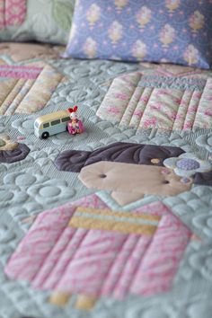 Your place to buy and sell all things handmade Flower Patterns, Quilt Patterns, Shaved Cat, Single Layer Cakes, Large Pillows, Girls Quilts, Quilted Pillow, Tiny Flowers, Happy Campers