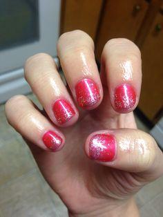ASP Coral Cutie gel polish. Gel Nail Tips, Gel Nail Polish, Diy Nails, Glitter Nails, Holiday Nails, Ring Finger, Spring Nails, Nail Colors, Nail Designs