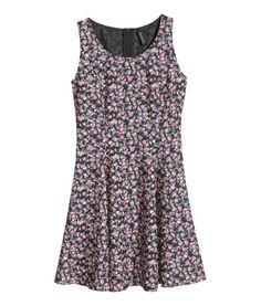 Crêpe dress | Product Detail | H&M