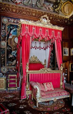 burghley House, State Bedchamber