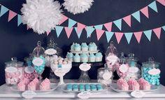 Candybar: Süßes, Dekoration und Gastgeschenke
