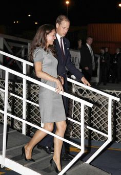 Leaving Ottawa, arriving in Montreal July 2011 Prince William and The Duchess of Cambridge