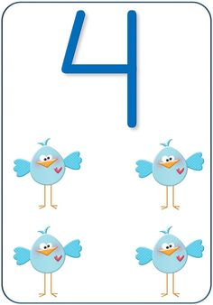 Teaching Numbers, Numbers Preschool, Math Numbers, Preschool Printables, Letters And Numbers, Flashcards For Kids, Kids Math Worksheets, Preschool Activities, Classroom Birthday