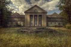 Kings sanatorium This was the admin building that formed part of the vast abandoned hospital
