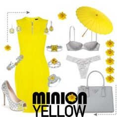 Minion Yellow and Silver