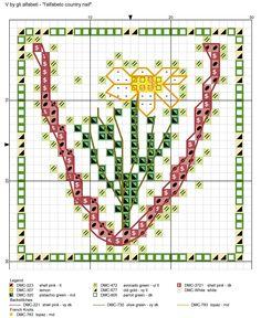 alfabeto country naif V