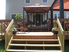 2 Tier Deck Designs | Outside Living Area-Deck - Patios & Deck Designs - Decorating Ideas ...