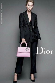 Jennifer Lawrence stars in Christian Dior's Miss Dior autumn/winter 2014 campaign.
