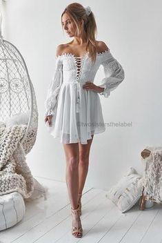 Spring Dresses You Will Feel Adorable Wearing - Oscilling Boho Dress, Lace Dress, White Dress, Bohemian Dresses, Women's Fashion Dresses, Dress Outfits, Maxi Dresses, 50 Fashion, Fashion Styles