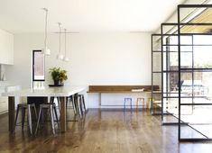 desire to inspire - desiretoinspire.net - Templeton: Architect Emma Templeton and her design team at Templeton: kitchen/dining/doors/windows