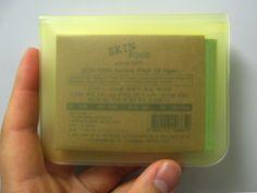 Innocent Culture Blog ✖ Koreanische Kosmetik & Asiatische Produkte: Skinfood Natural Fresh Oil Paper