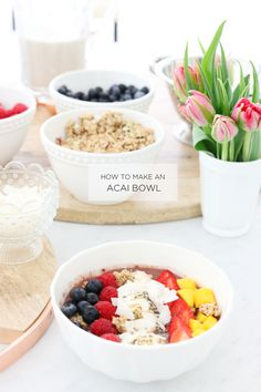 Tips for an amazing Acai Bowl
