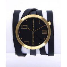 Reloj de Mujer 666 Barcelona Colección John Gold de Color Negro y Dorado. http://www.tutunca.es/reloj-mujer-666-barcelona-john-gold-negro-y-dorado