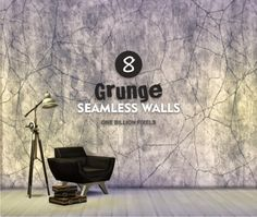 One Billion Pixels: 8 Grunge Seamless Walls • Sims 4 Downloads