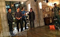 Behind the Scenes of EW's 'Supernatural' Cover Shoot | Misha Collins, Jensen…