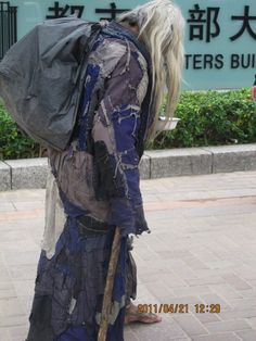 Chinese homeless in cool style!