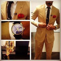 Terrence Jenkins shows us how to wear a khaki suit and nails it!