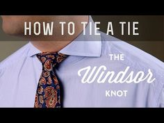 How to tie a tie full windsor youtube i throw my hands up in how to tie a windsor knot full windsor or double windsor what to avoid ccuart Image collections