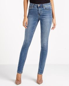 The ultimate style for maximum lift with minimal effort! Crafted from a hold-you-in fabric that shapes and flatters you from every angle, The Sculpting Jean will never stretch out. Pair it with a mock neck top and booties for a trendy fall look.<br /><br />TIP:<br />Wash jeans inside out, in cold water to minimize fading and prevent dye from bleeding.
