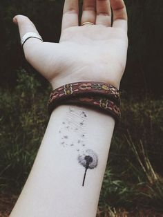 Twitter Pinterest Gmail The bane of existence when pertaining to maintaining a beautiful lawn, the dandelion tattoos have a very unique and powerful meaning that draws in ink lovers worldwide. This resilient little flower is able to grow anywhere, in a field of stones, on a busy highway, or in the middle of a sidewalk. …