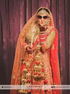 #Brideoftheday..!! #Landmarkdesignerstudio #EthnicWear #DesignerOutfits #Chandigarh