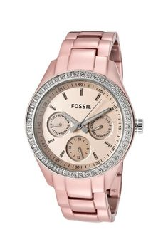 Blush Stella Casual Watch by Fossil