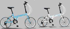 Think Blue VW, la bici plegable de Volkswagen