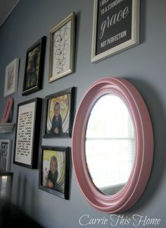 Think and Make Thursdays No. 12 + Features | 5 Dollar Mirror Makeover