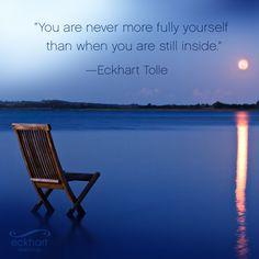 #stillness #eckharttolle