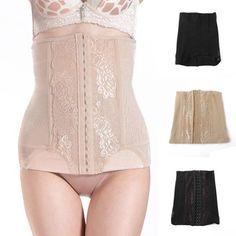 Hot Sale Women Slim Tummy Control Shapewear Waist Cincher Body Shaper Corset Belt