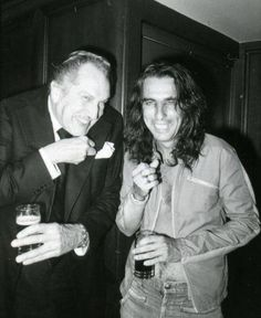 Vincent Price - Alice Cooper...love their devilish laughter
