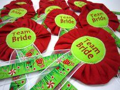 Bride to be TEAM Junggesellinnen Abschied Hochzeit von Anne Svea auf DaWanda.com